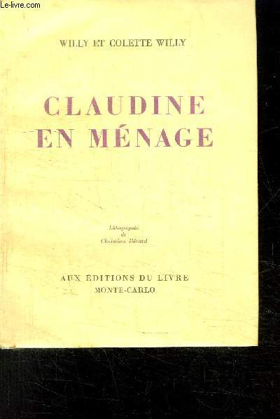 CLAUDINE EN MENAGE