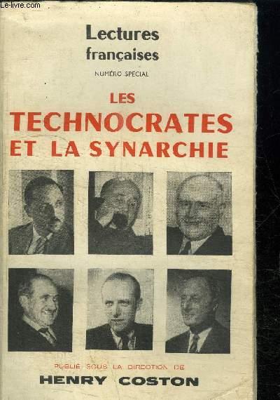 LES TECHNOCRATES ET LA SYNARCHIE- LECTURES FRANCAISES NUMERO SPECIAL