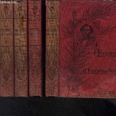 LES MYSTERES DE PARIS- 4 TOMES EN 4 VOLUMES