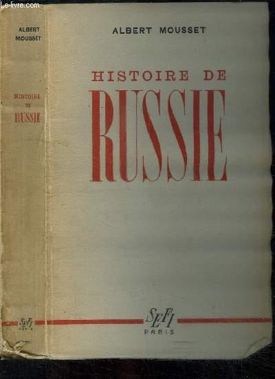HISTOIRE DE RUSSIE