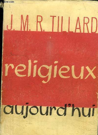 RELIGIEUX AUJOURD'HUI