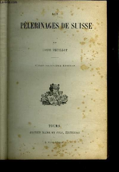 DES PELERINAGES DE SUISSE - 23ème EDITION