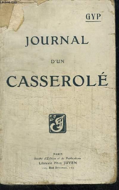 JOURNAL D'UN CASSEROLE