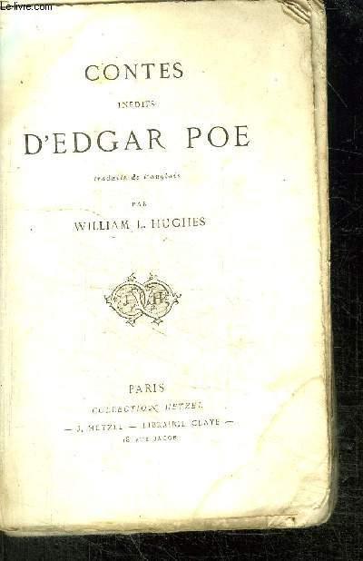CONTES INEDITS D'EDGAR POE