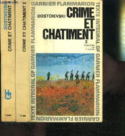CRIME ET CHATIMENT - TOMES 1 ET 2
