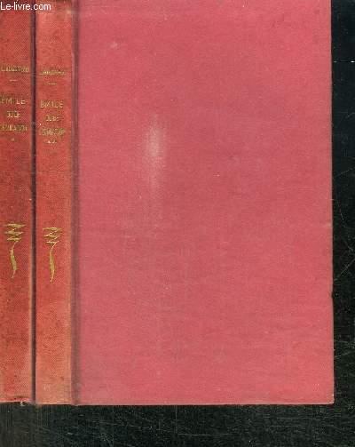 EMILE OU DE L'EDUCATION  - 2 TOMES EN 2 VOLUMES
