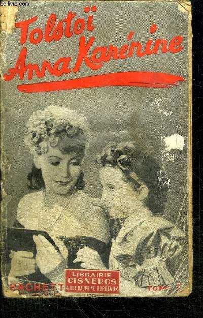 ANNA KARENINE - TOME 1