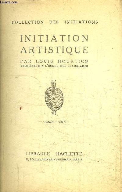 INITIATION ARTISTIQUE - COLLECTION DES INITIATIONS