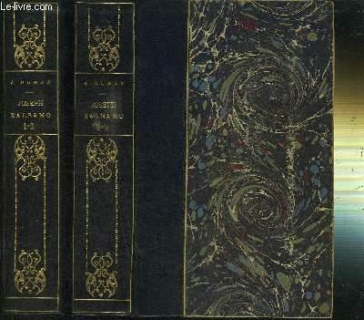 MEMOIRES D'UN MEDECIN - JOSEPH BALSAMO - 4 TOMES EN 2 VOLUMES