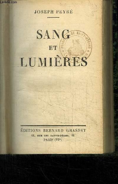 SANG ET LUMIERES