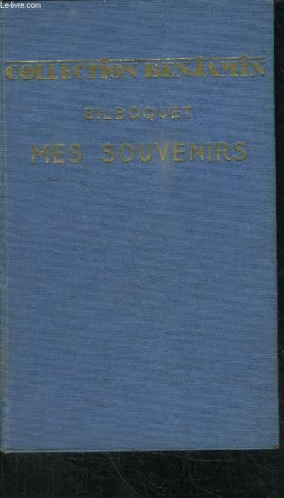 MES SOUVENIRS - COLLECTION BENJAMIN