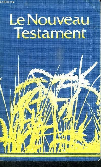 NOUVEAU TESTAMENT NOUVELLE EDITION 1989