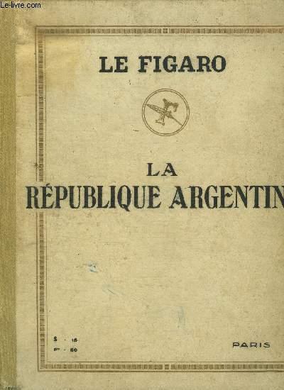ALBUM DE LA REPUBLIQUE ARGENTINE