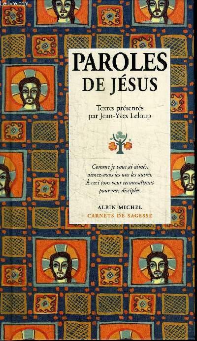 PAROLES DE JESUS