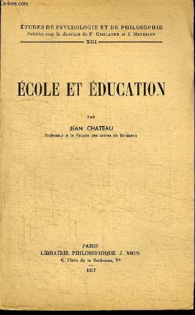 ECOLE ET EDUCATION