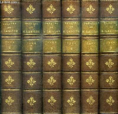 THEATRE COMPLET DE EUGENE LABICHE 6 VOLUMES - TOME 2, 3, 5, 6, 7 ET 9