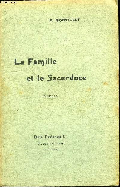 LA FAMILLE ET LE SACERDOCE