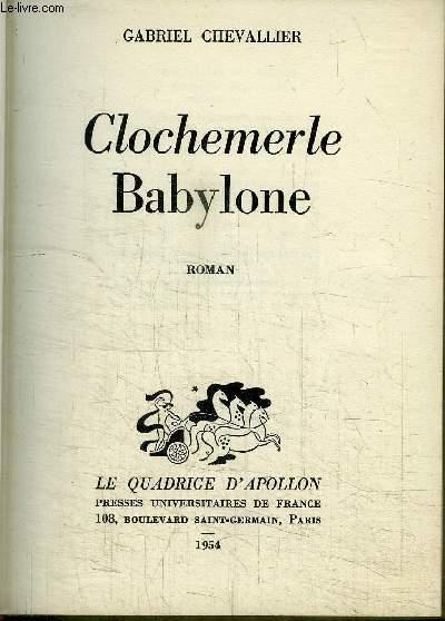 CLOCHEMERLE BABYLONE