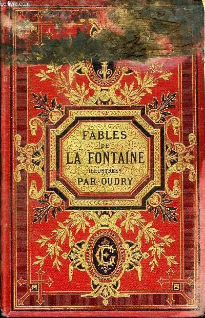 FABLES DE LA FONTAINE ILLUSTREES PAR J. -B. OUDRY