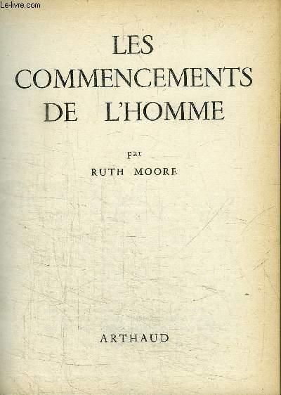 LES COMMENCEMENTS DE L'HOMME