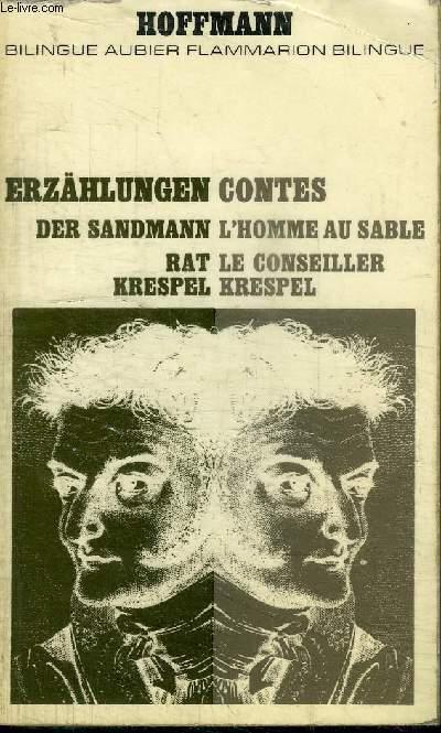 CONTES - L'HOMME AU SABLE, LE CONSEILLER KRESPEL