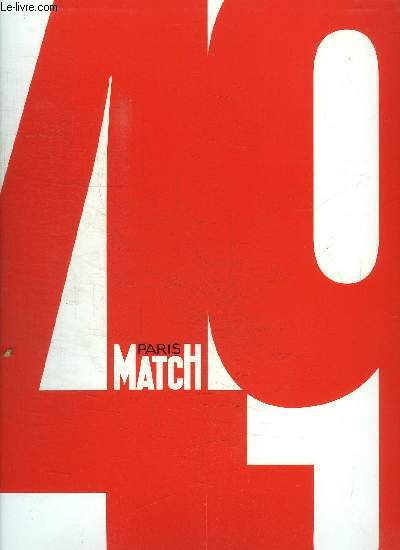 50 ANS - PARIS MATCH 1949-1998