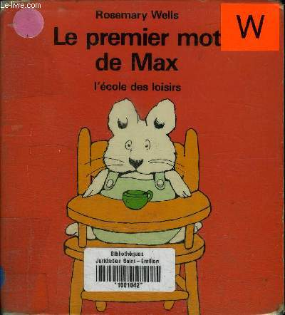 LE PREMIER MOT DE MAX