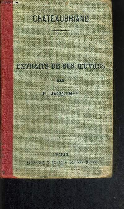 EXTRAITS DE SES OEUVRES