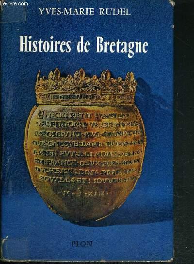 HISTOIRES DE BRETAGNE + 1 carte dépliante