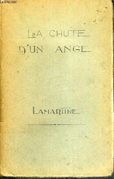 OEUVRES DE LAMARTINE - LA CHUTE D'UN ANGE - EPISODE