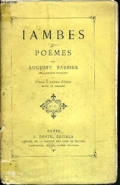 ÏAMBES ET POEMES