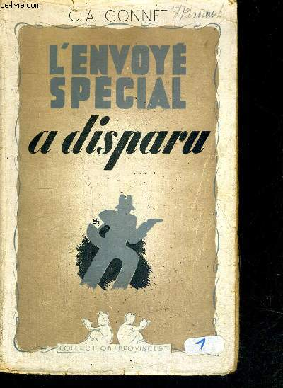 L'ENVOYE SPECIAL A DISPARU - COLLECTION PROVINCES