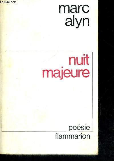 NUIT MAJEURE  - POESIE