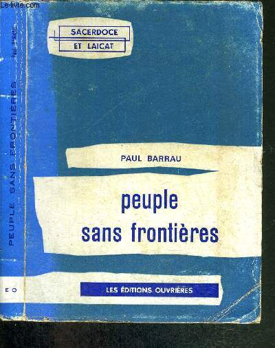 PEUPLE SANS FRONTIERES - COLLECTION SACERDOCE ET LAICAT