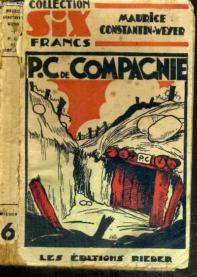 P.C. DE COMPAGNIE - COLLECTION SIX FRANCS