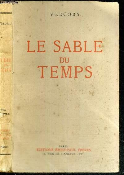 LE SABLE DU TEMPS