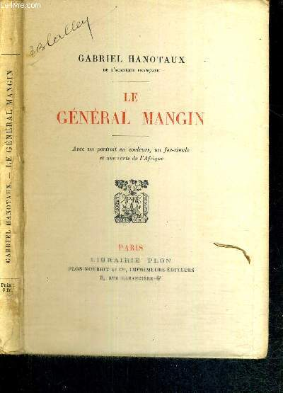 LE GENERAL MANGIN