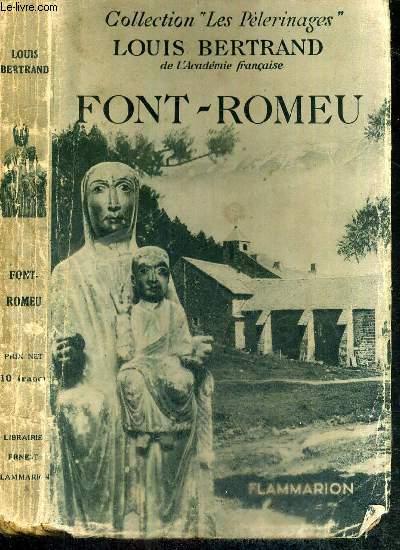 FONT-ROMEU - COLLECTION LES PELERINAGES