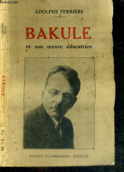 BAKULE ET SON OEUVRE EDUCATRICE