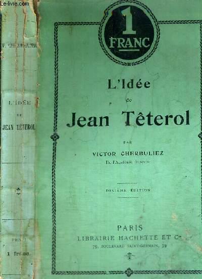 L'IDEE DE JEAN TETEROL