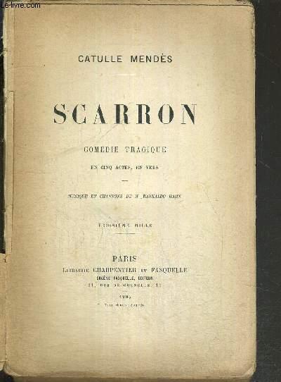 SCARRON - COMEDIE TRAGIQUE EN CINQ ACTES, EN VERS