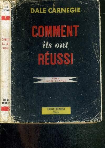 COMMENT ILS ONT REUSSI - AIDEZ VOTRE CHANCE