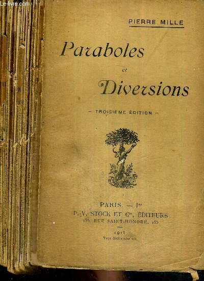 PARABOLES ET DIVERSIONS