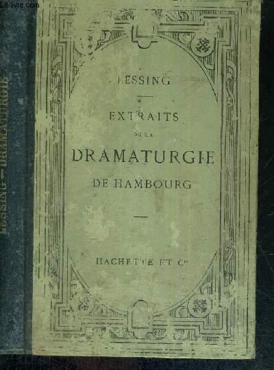 EXTRAITS DE LA DRAMATURGIE DE HAMBOURG