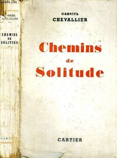 CHEMINS DE SOLITUDE