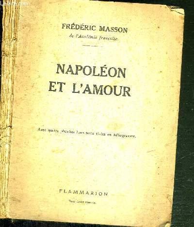 NAPOLEON ET L'AMOUR - COLLECTION HIER ET AUJOURD'HUI