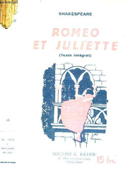 ROMEO ET JULIETTE (TEXTE INTEGRAL)