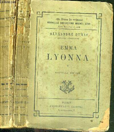 EMMA LYONNA - EN 2 VOLUMES : TOME 4 + 5