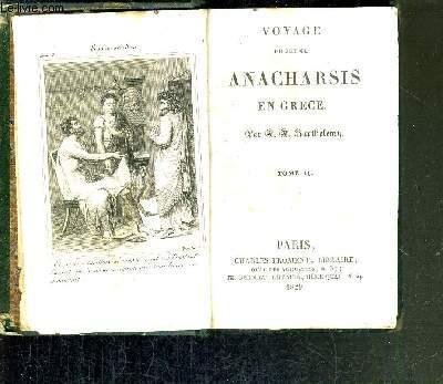VOYAGE DU JEUNE ANACHARSIS EN GRECE - TOME 2