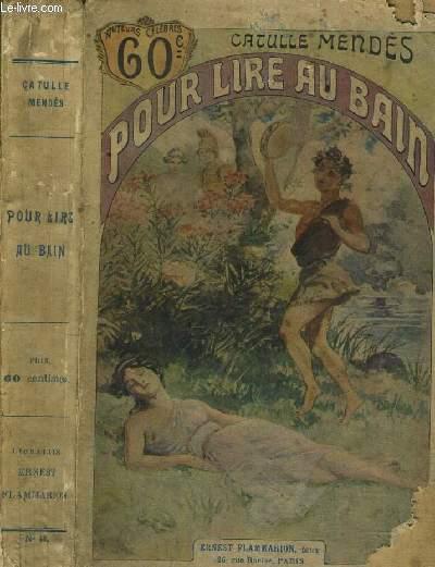POUR LIRE AU BAIN